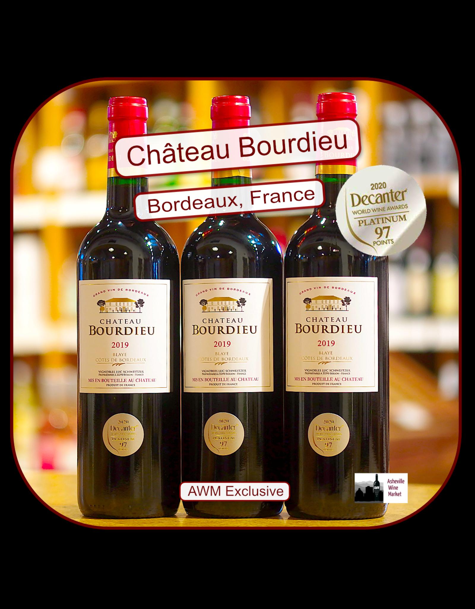 Bordeaux Blend Chateau Bourdieu Blaye Bordeaux 19