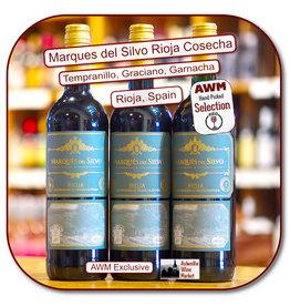 Tempranillo Marques del Silvo Rioja Tinto Cosecha 2019