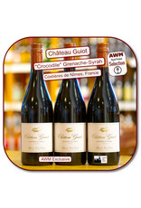 Red Blend - Europe Ch Guiot Costieres de Nimes Crocodile  18