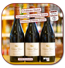 Red Blend - Europe Ch Guiot Costieres de Nimes Tradition-Crocodile  RED  18
