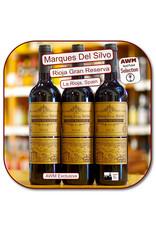 Tempranillo Marques del Silvo Rioja GRAN Reserva 14