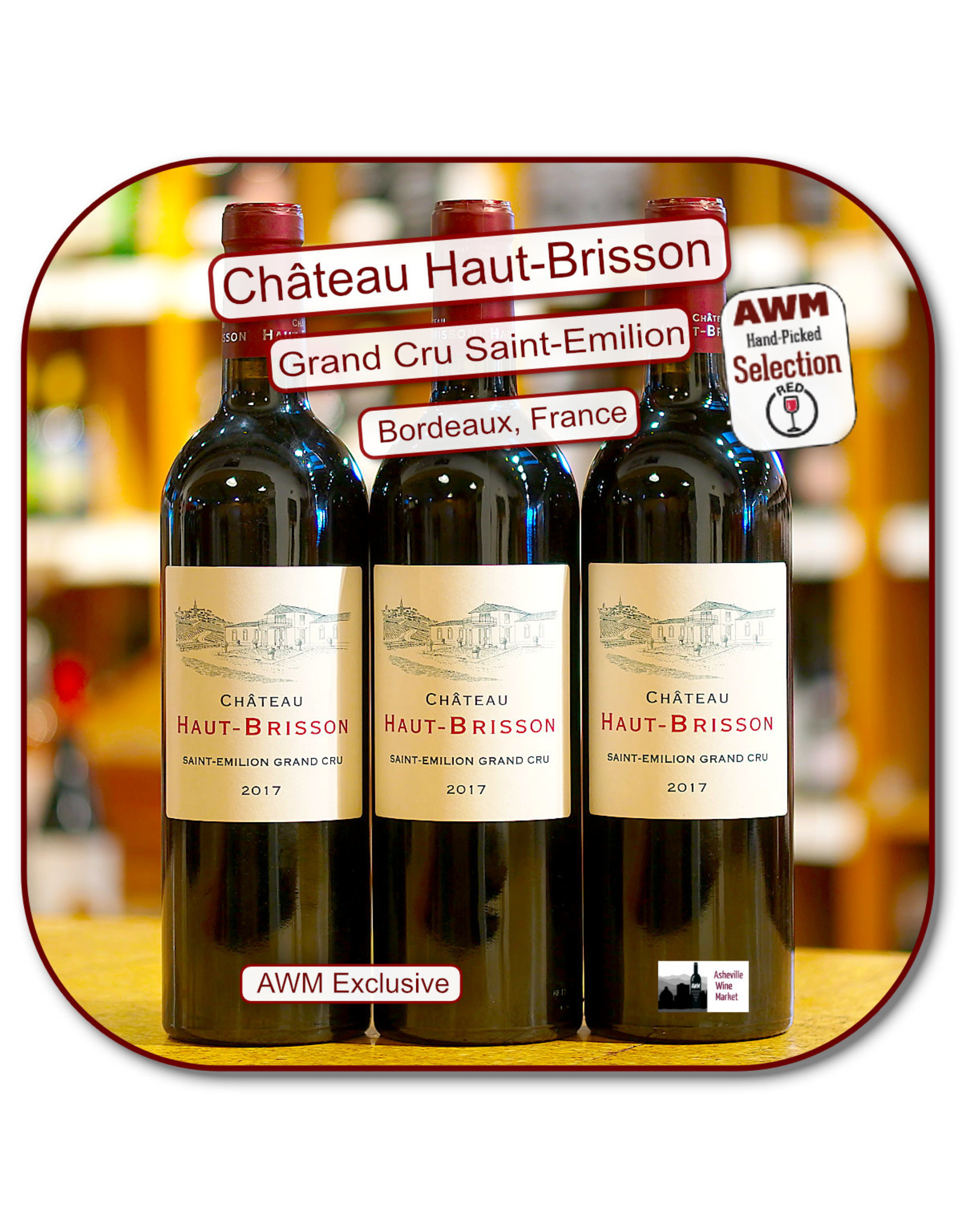 Bordeaux Blend Ch Haut Brisson St Emilion Grand Cru