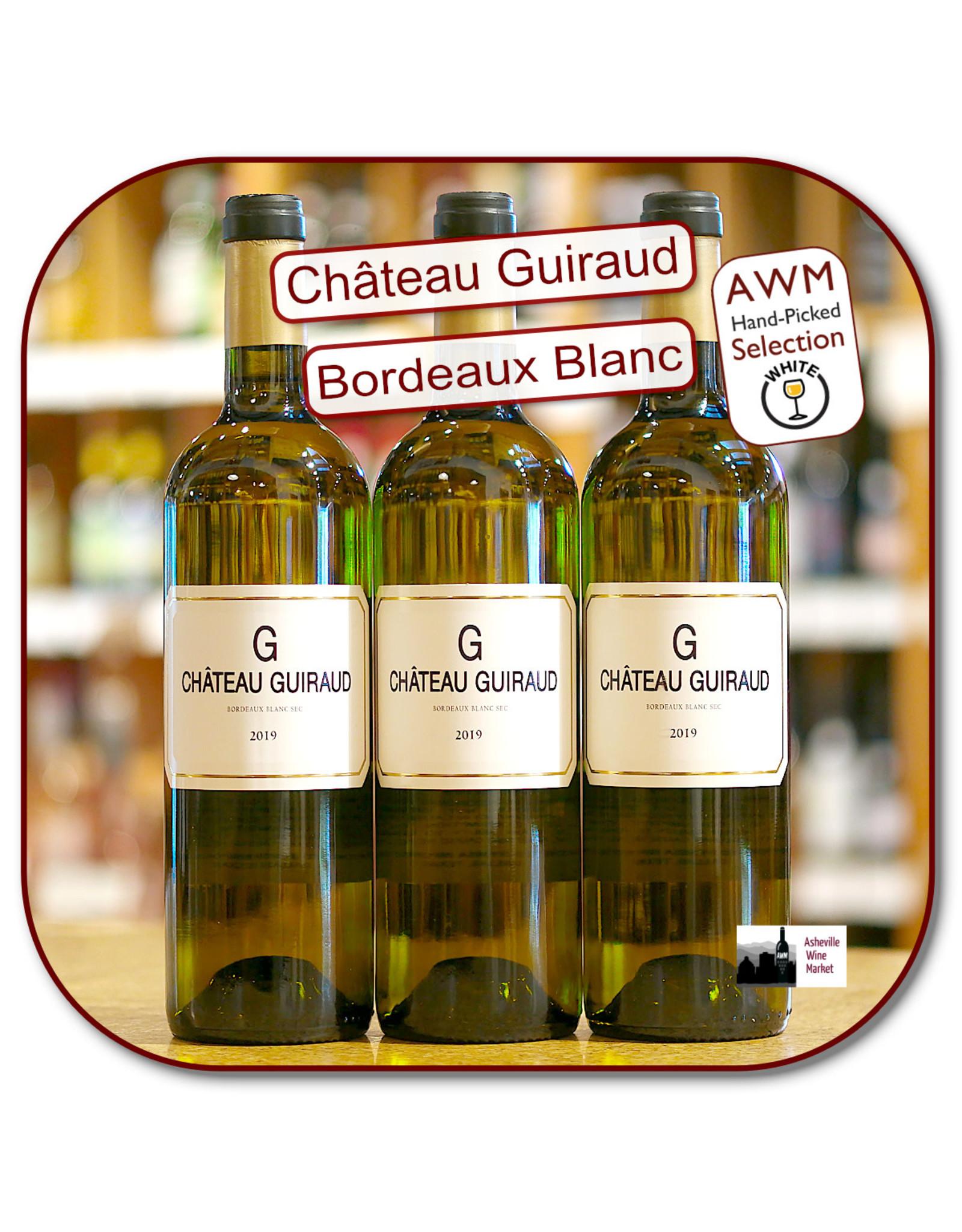 Bordeaux Blend White Chateau Guiraud G Bordeaux Blanc Sec 19