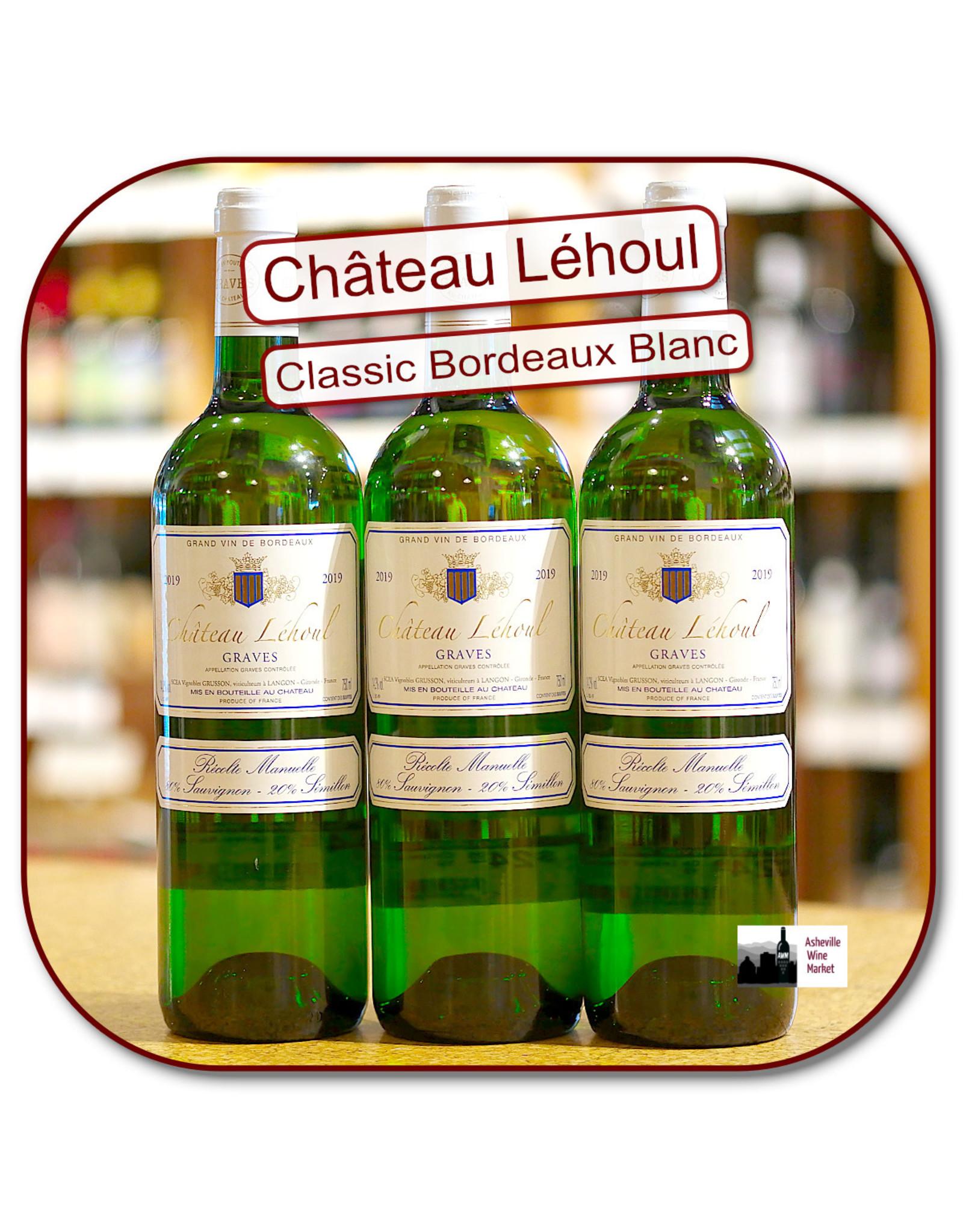Bordeaux Blend Ch Lehoul Blanc Graves 19