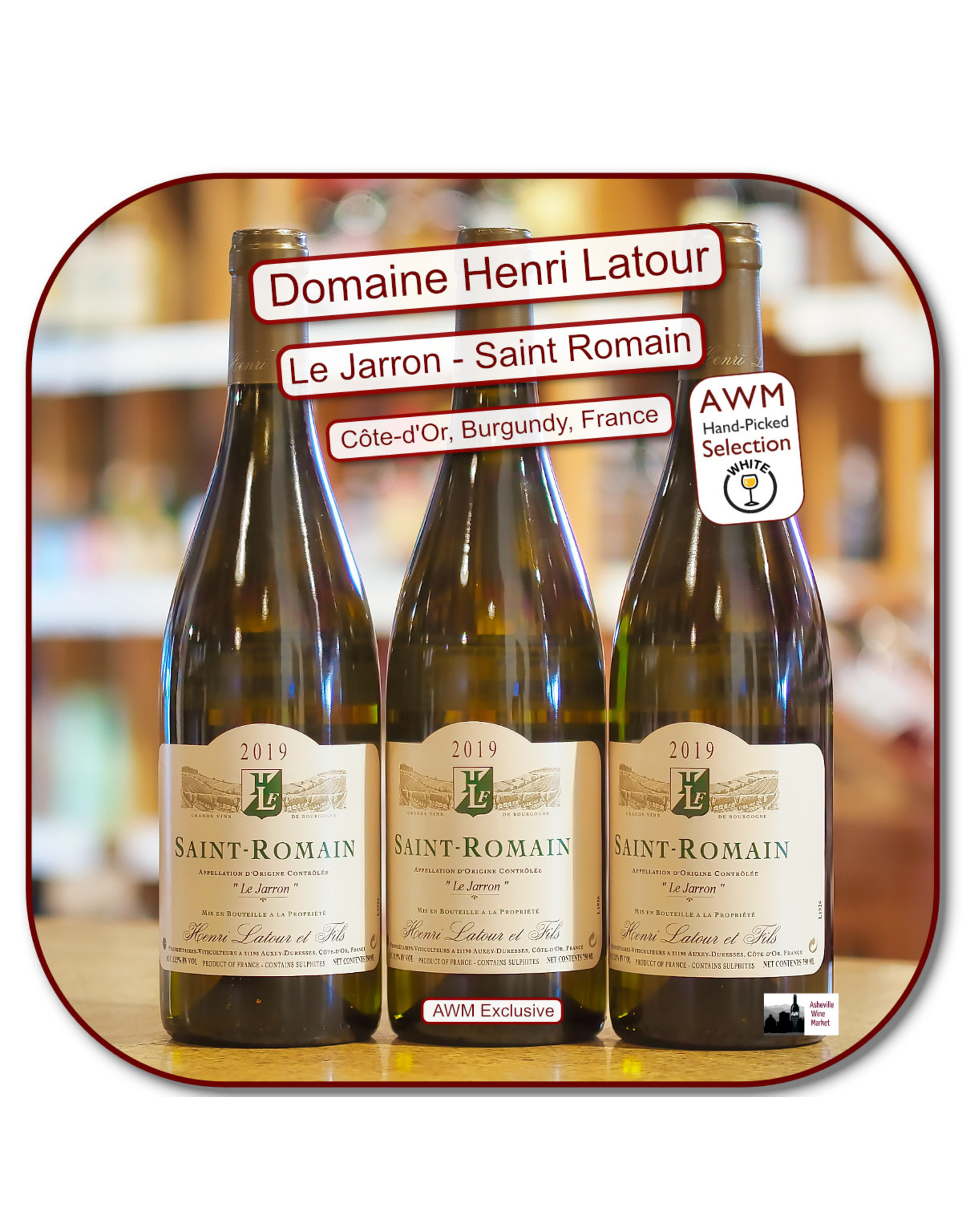 Chardonnay H Latour St Romain Jarron 19