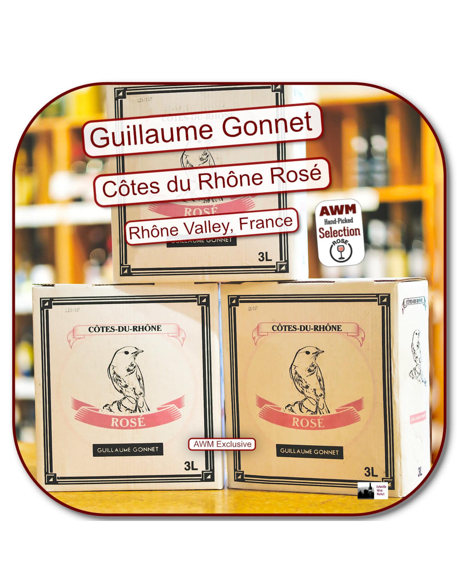 Rose G Gonnet - BOX - 3ltr - Le Reveur - CDR Rose  20