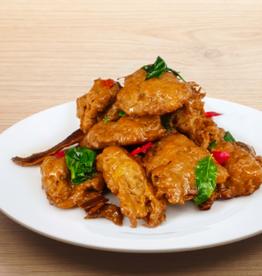 Vegefarm * 松珍 (VF) Vege Tri-Spice Chicken (S)*(松珍) 三杯雞 (S)