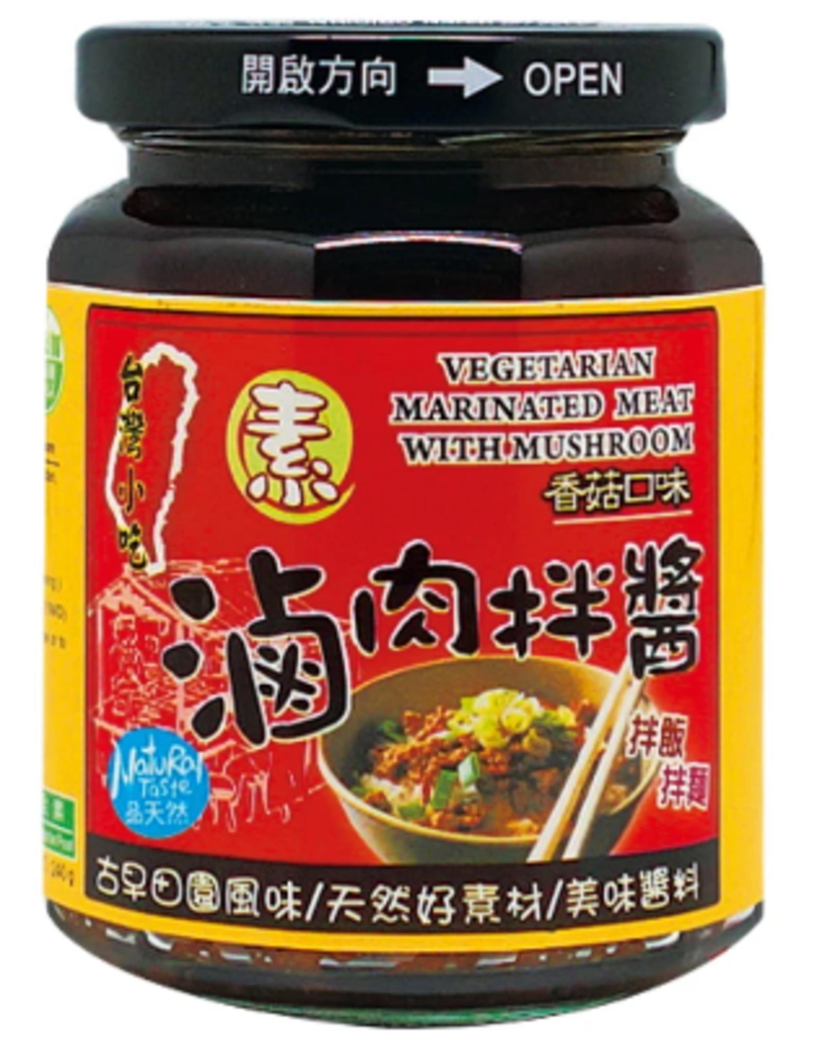 (UK) Vege SauceCo Vege Marshroom Marinated Pork Sauce*(味榮) 素滷肉拌醬