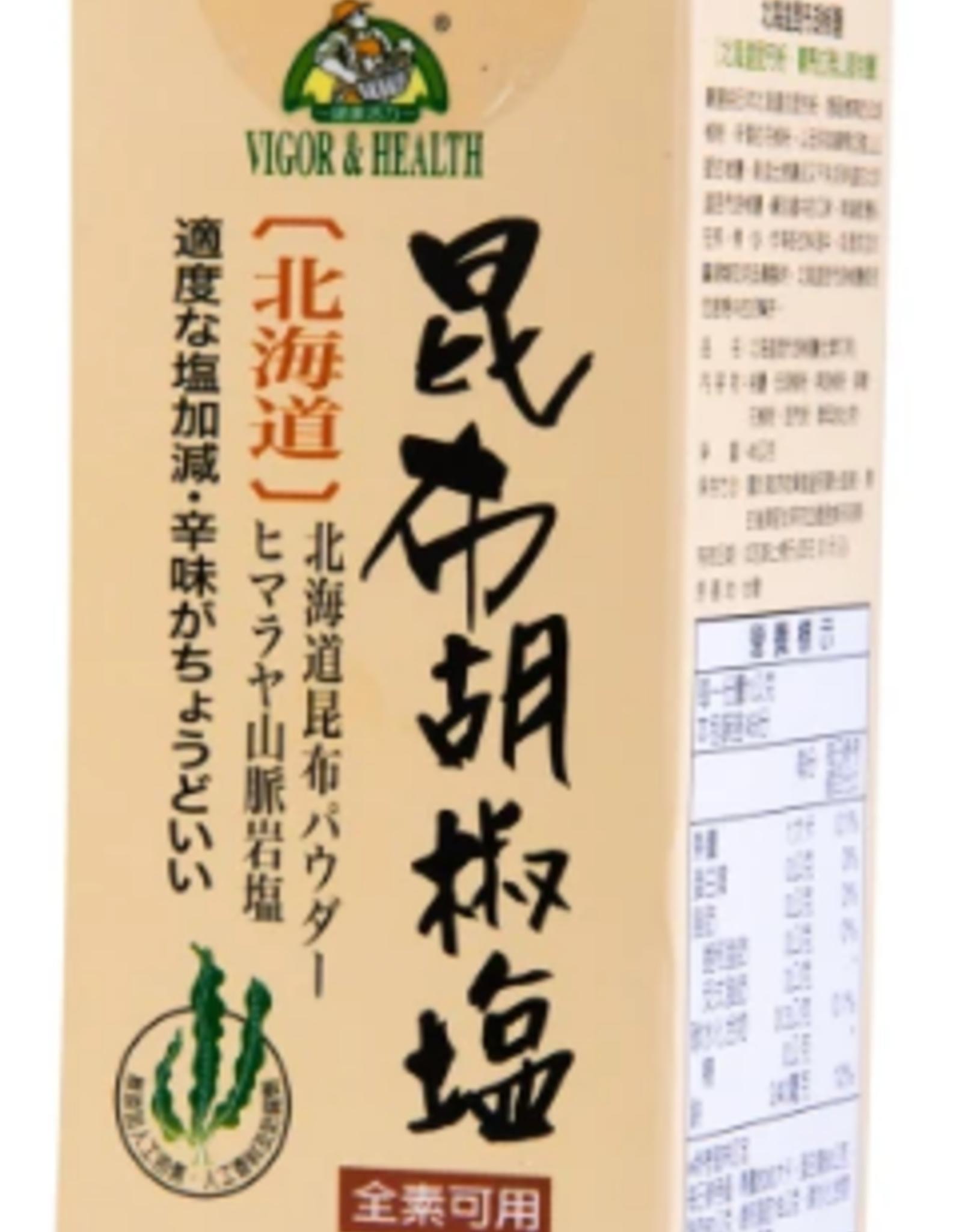 (UK) Vegan Hokkaido Kelp Pepper Salt*(有機廚坊) 北海道昆布胡椒鹽