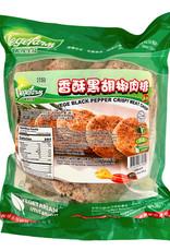 Vegefarm * 松珍 (VF) Vege Black Pepper Crispy Meat Chop (S)*(松珍) 香酥黑胡椒肉排 (S)