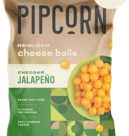 (PC) Vegan PipCorn Jalapeño Cheddar Cheese Balls*(PC) 全素起司球