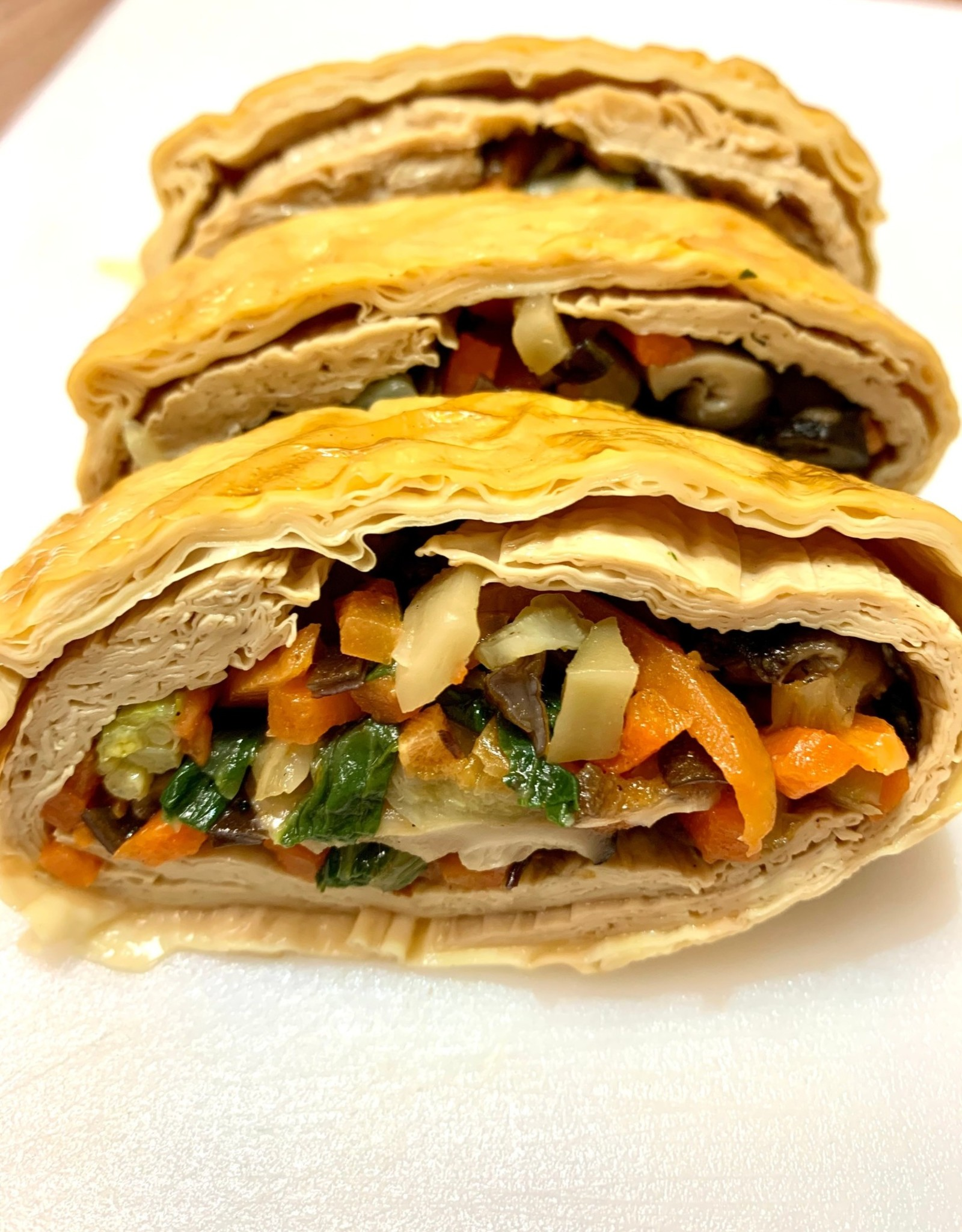Hung Kitchen*鴻廚 (HK) Vegan Bean Curd Roll *(鴻廚) 手工素鵝