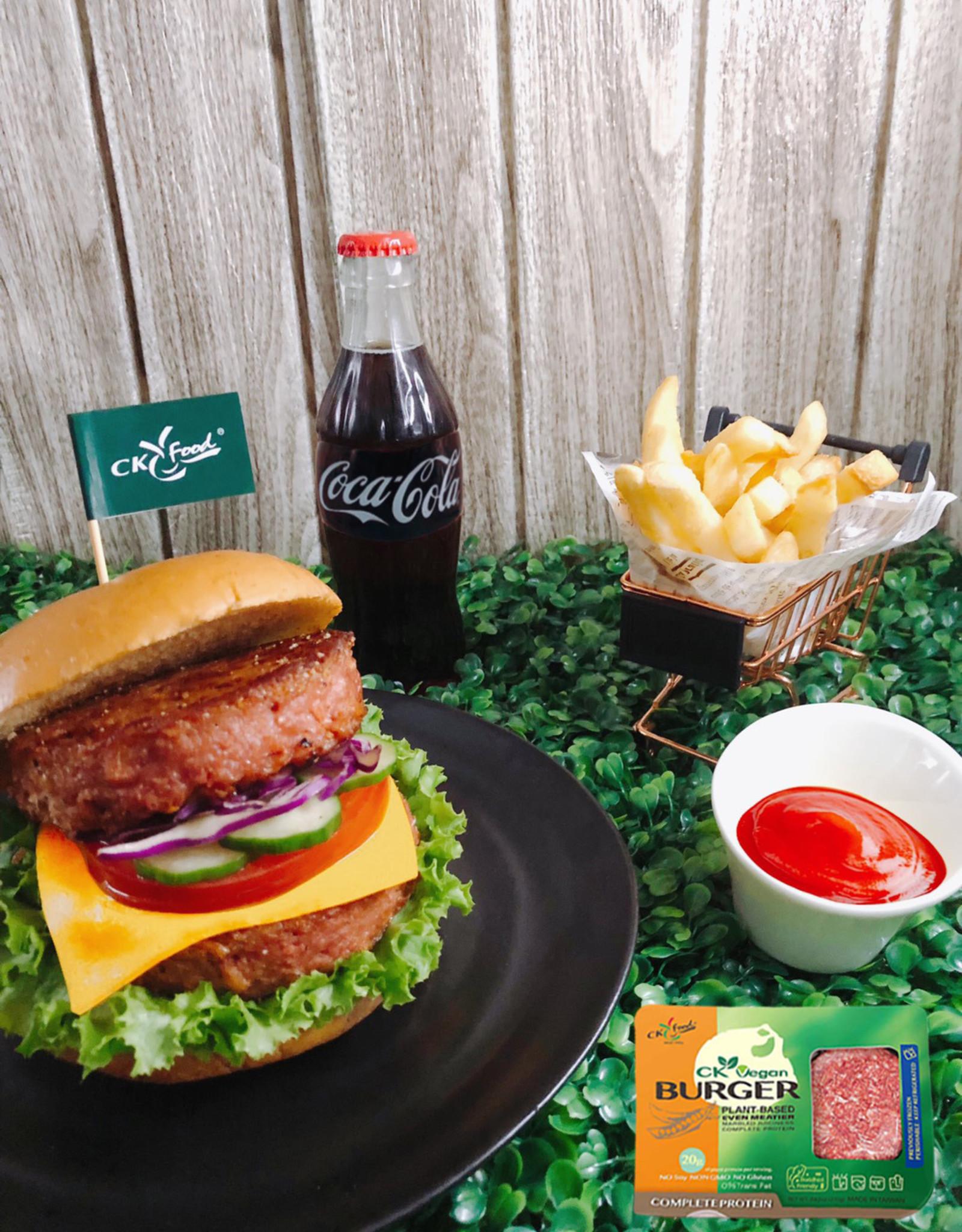 Chyuan Kuang * 全廣 (CK) Vegan CK Burger (S)* 純素厚漢堡排(S)