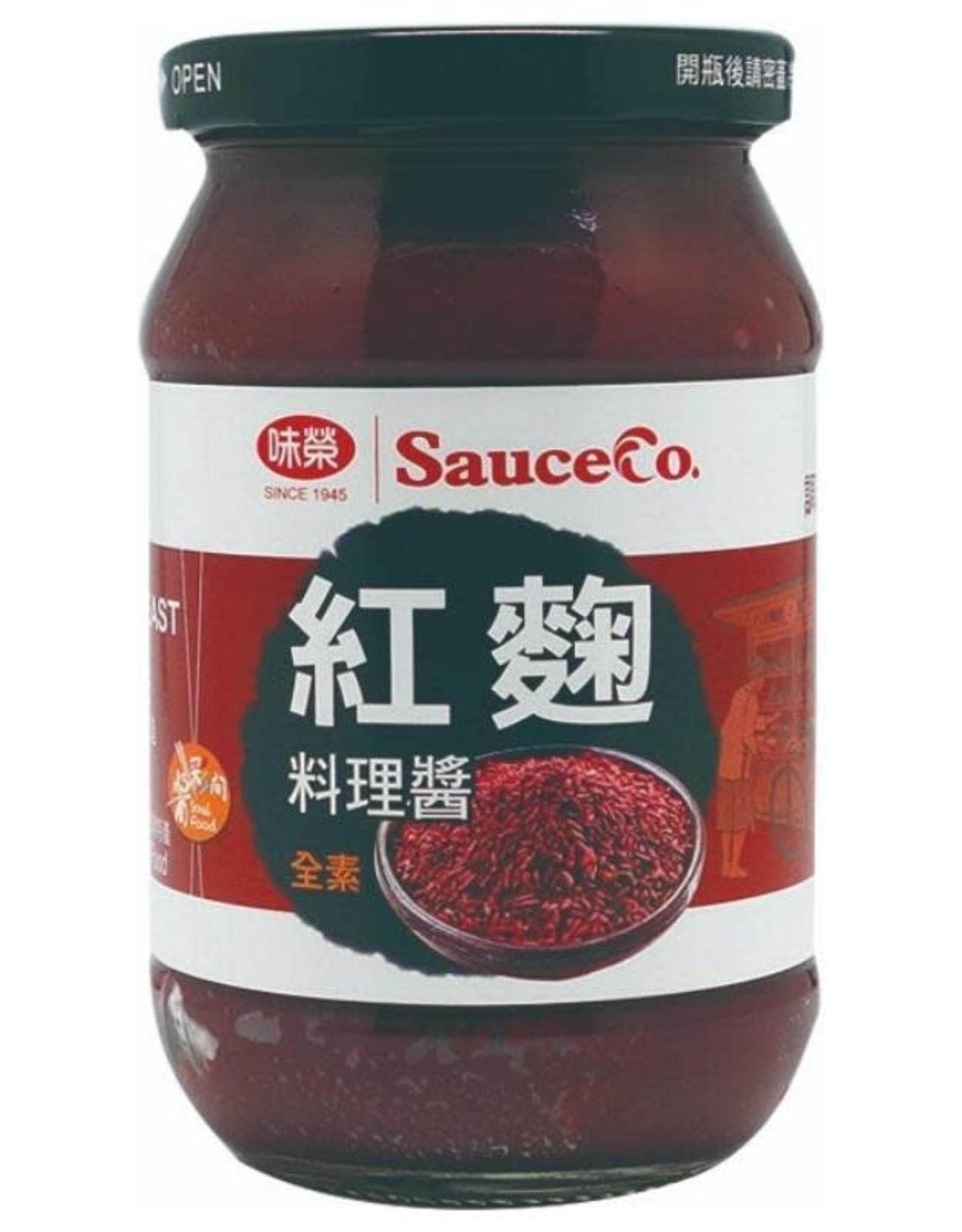 (UK) Vege SauceCo Yeast Rice Sauce*(味榮) 紅麴料理醬