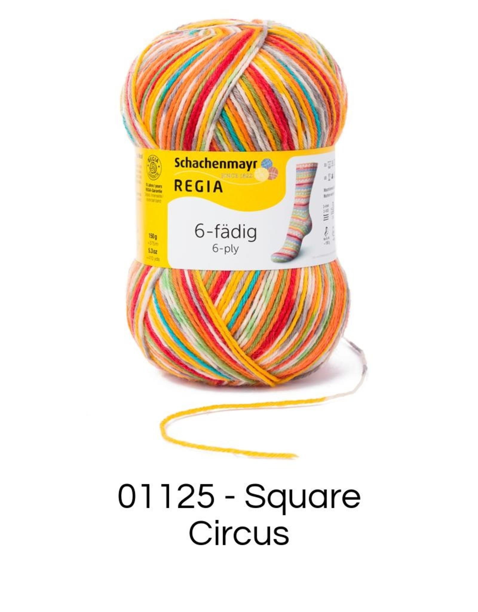 Regia 6 ply Color
