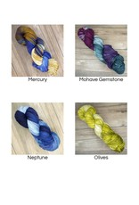 Yarnslayer Fibers Merino Melee Paints