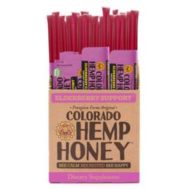 CBD Honey Sticks Elderberry- Immune Support