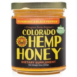 CBD Honey Jars Turmeric & Black Pepper -12 oz 1000mg