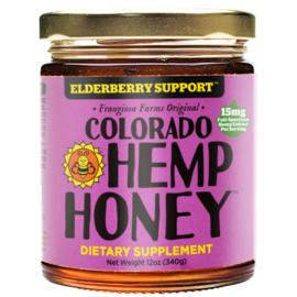 CBD Honey Jars Elderberry -Immune Support- 12 oz 1000mg