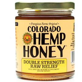 CBD Honey Jars Double Strength -Natural- 12 oz 2000mg