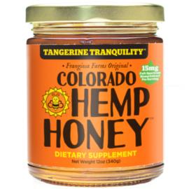 CBD Honey Jars Tangerine -Tranquility- 12 oz 1000mg