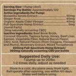 Pet Bone Broth - Inflammation & Digestion Beef 600mg