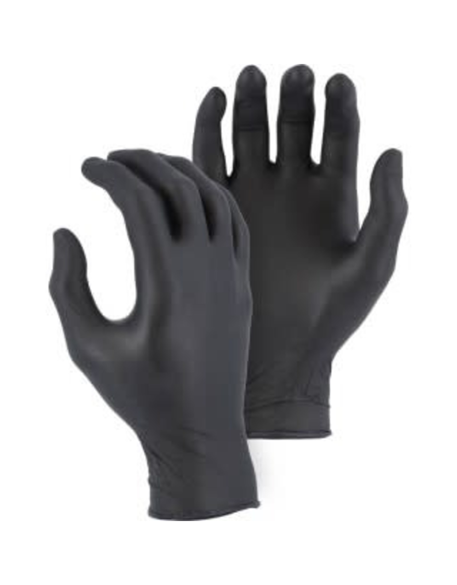 Majestic Glove Disposable Industrial Grade 4 MIL Nitrile Glove, Powder-Free 100 Pair
