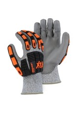Majestic Glove X-15 Cut & Impact Resistant Glove With Polyurethane Coating