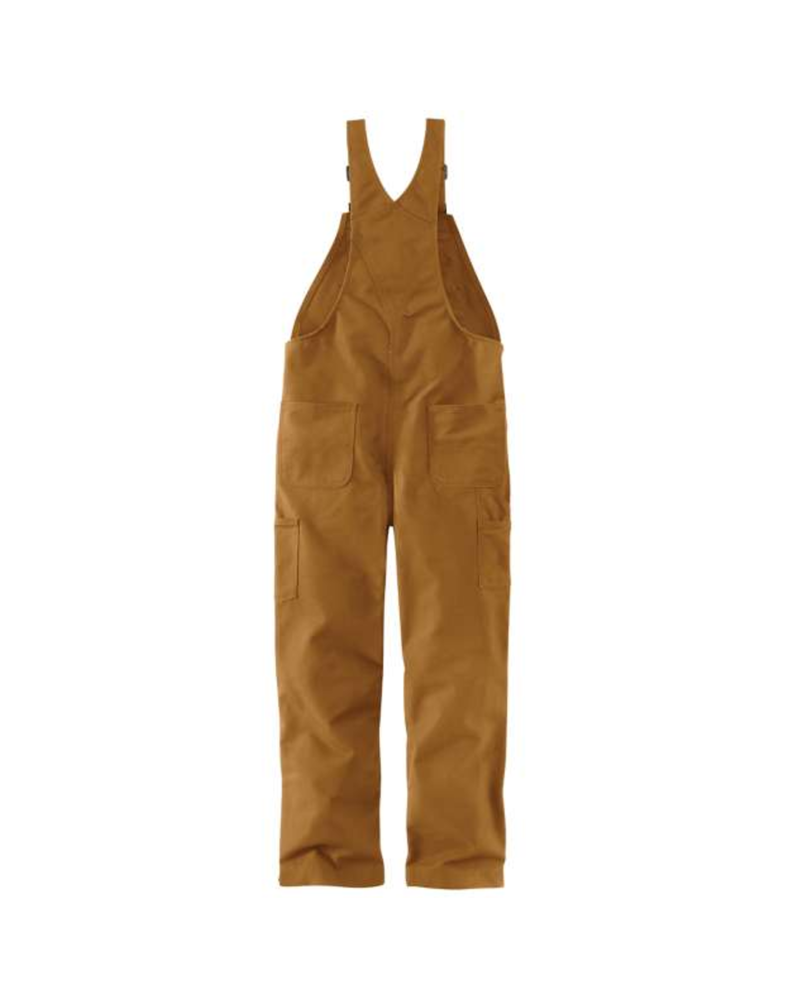 Flame-Resistant Duck Bib Overall/Quilt-Lined