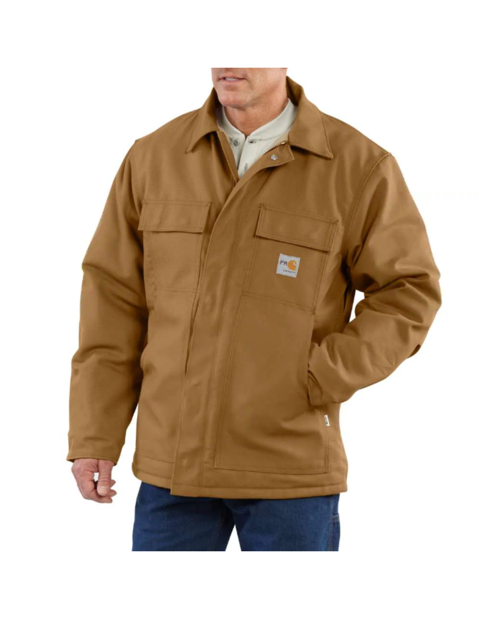 Flame-Resistant Duck Traditional Coat/Quilt-Lined