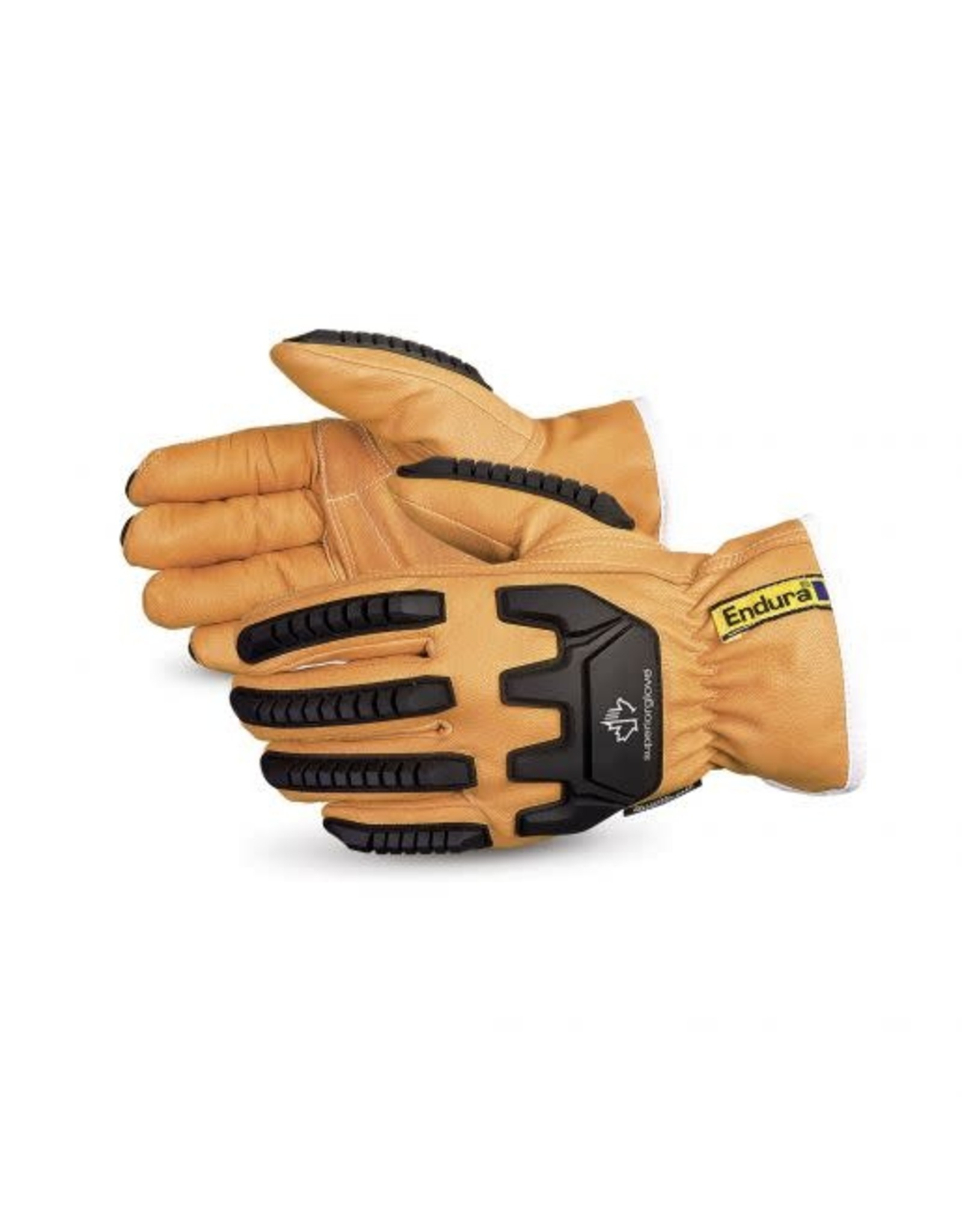 Superior Glove Superior Glove Endura Impact-Resistant Kevlar & Thinsulate - Lined Goatskin Driver Glove