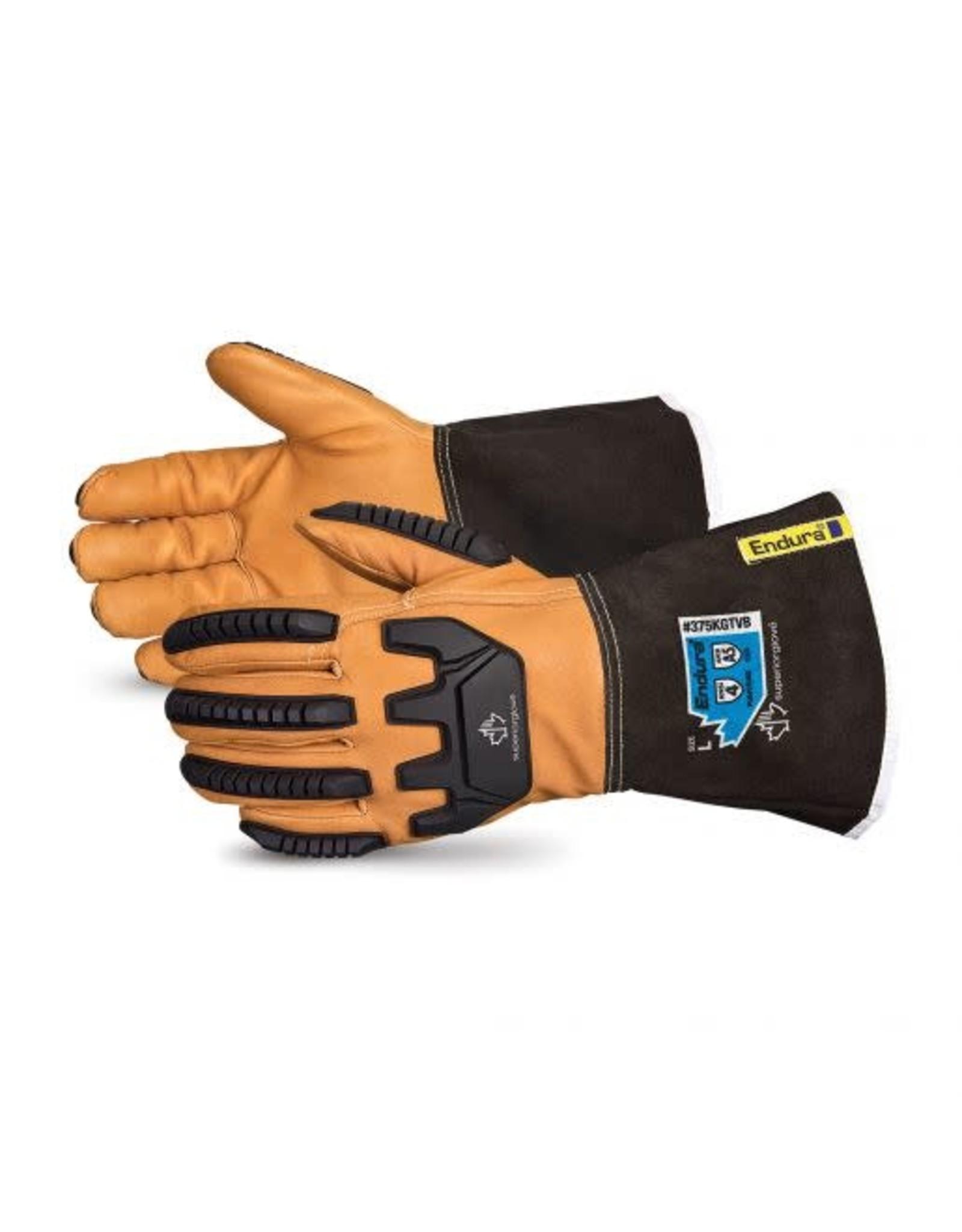 Superior Glove Superior Glove Endura Kevlar - Lined Winter Impact-Resistant Goatskin Drive Glove w/ Oilbloc