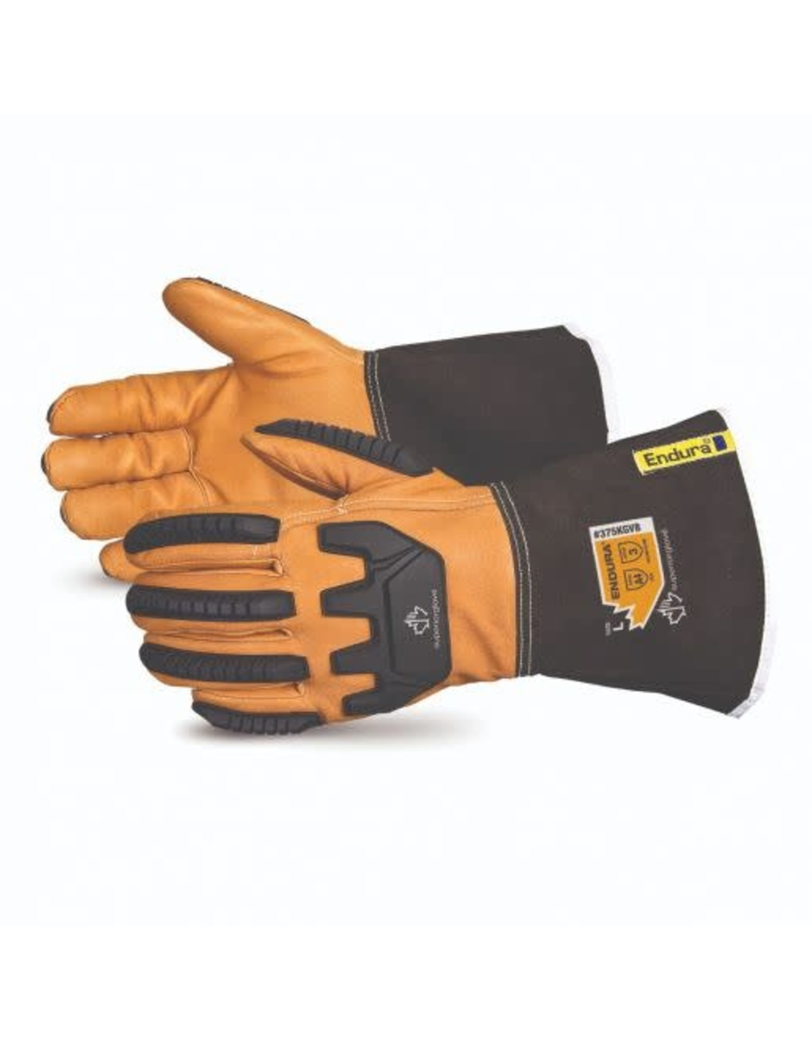 Superior Glove Superior Glove Impact-Resistant Kevlar - Lined Goatskin Glove w/ Oilbloc