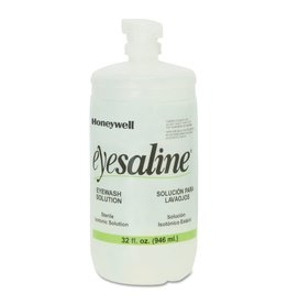 Honeywell Honeywell Emergency Eyewash Eyesaline® Wall Station Refill Bottle 32oz