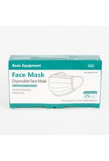 Basic Equipment Disposable Face Mask 25pc