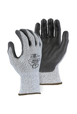 Majestic Glove Cut-Less Watchdog Seamless Knit Glove with Polyurethane Palm Coating