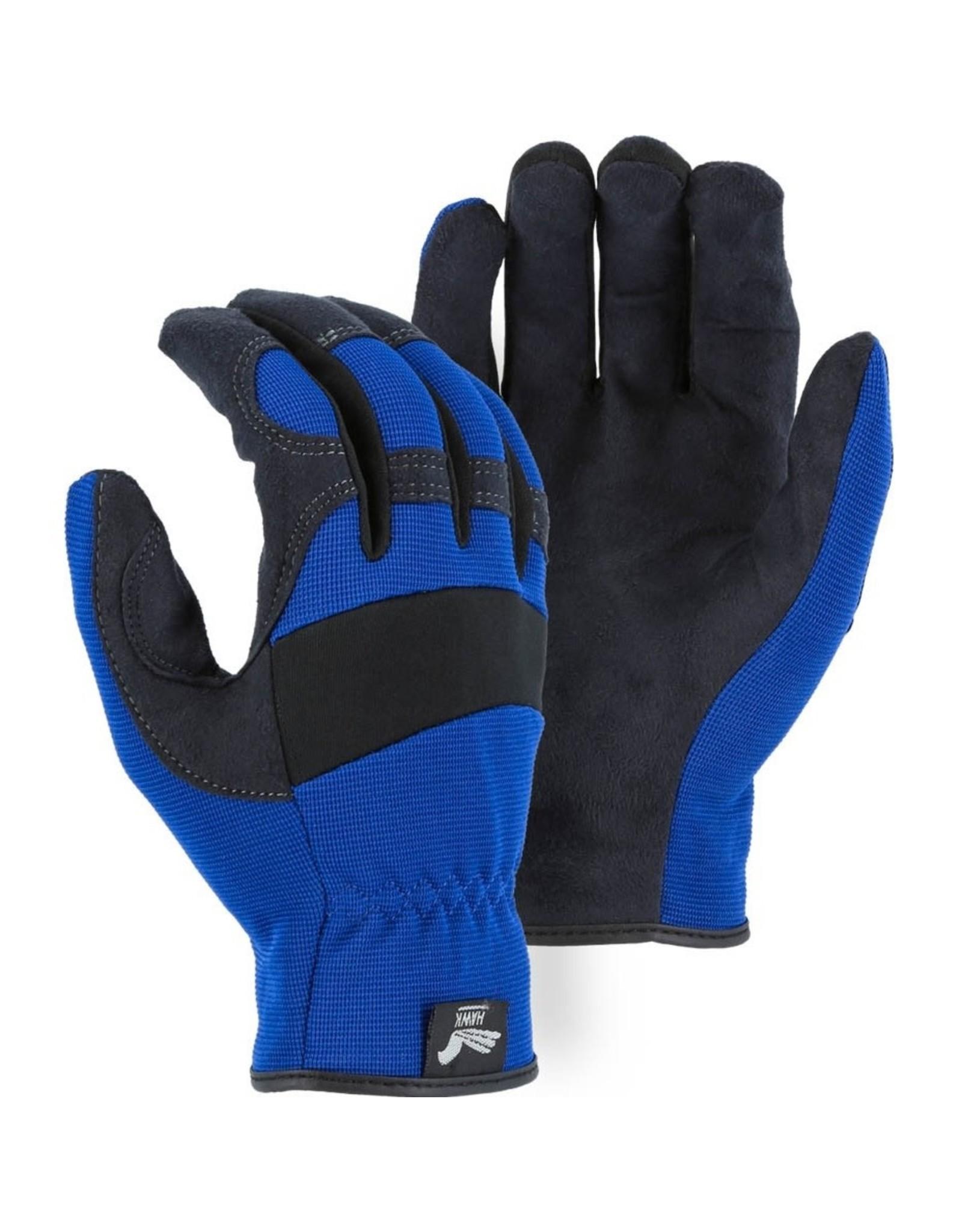 Majestic Glove Armor Skin™ Mechanics Glove with Knit Back