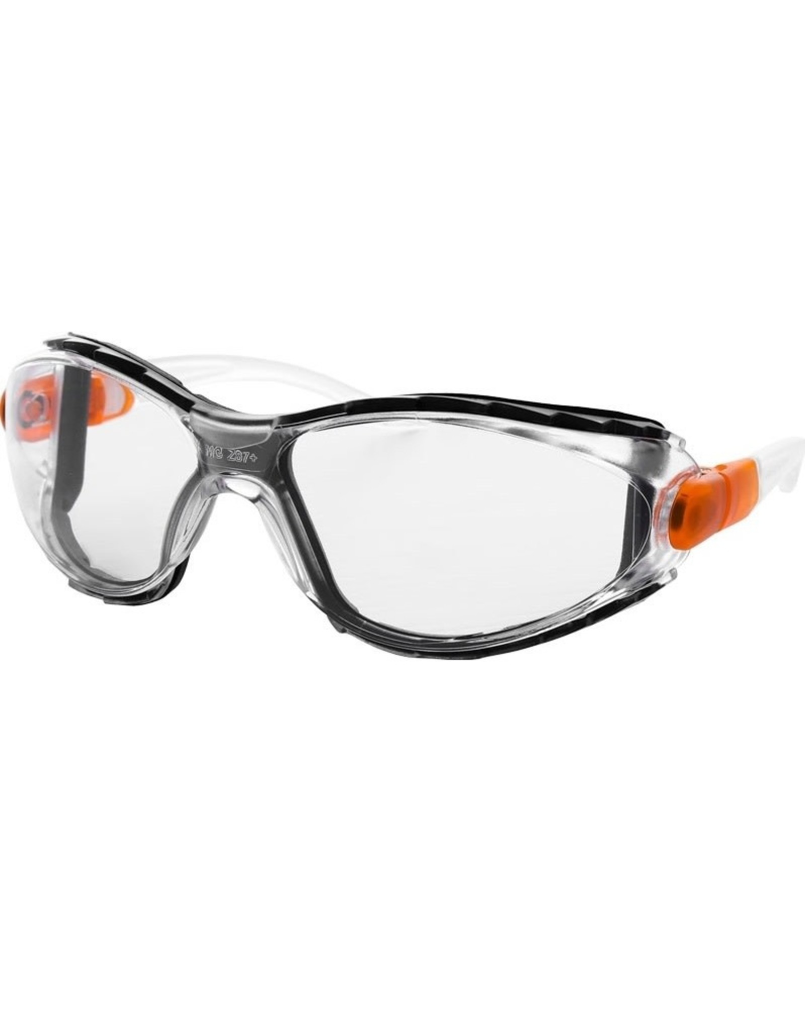 Majestic Glove Riot Shield Safety Glasses and Goggles with Clear Anti-Fog Lens