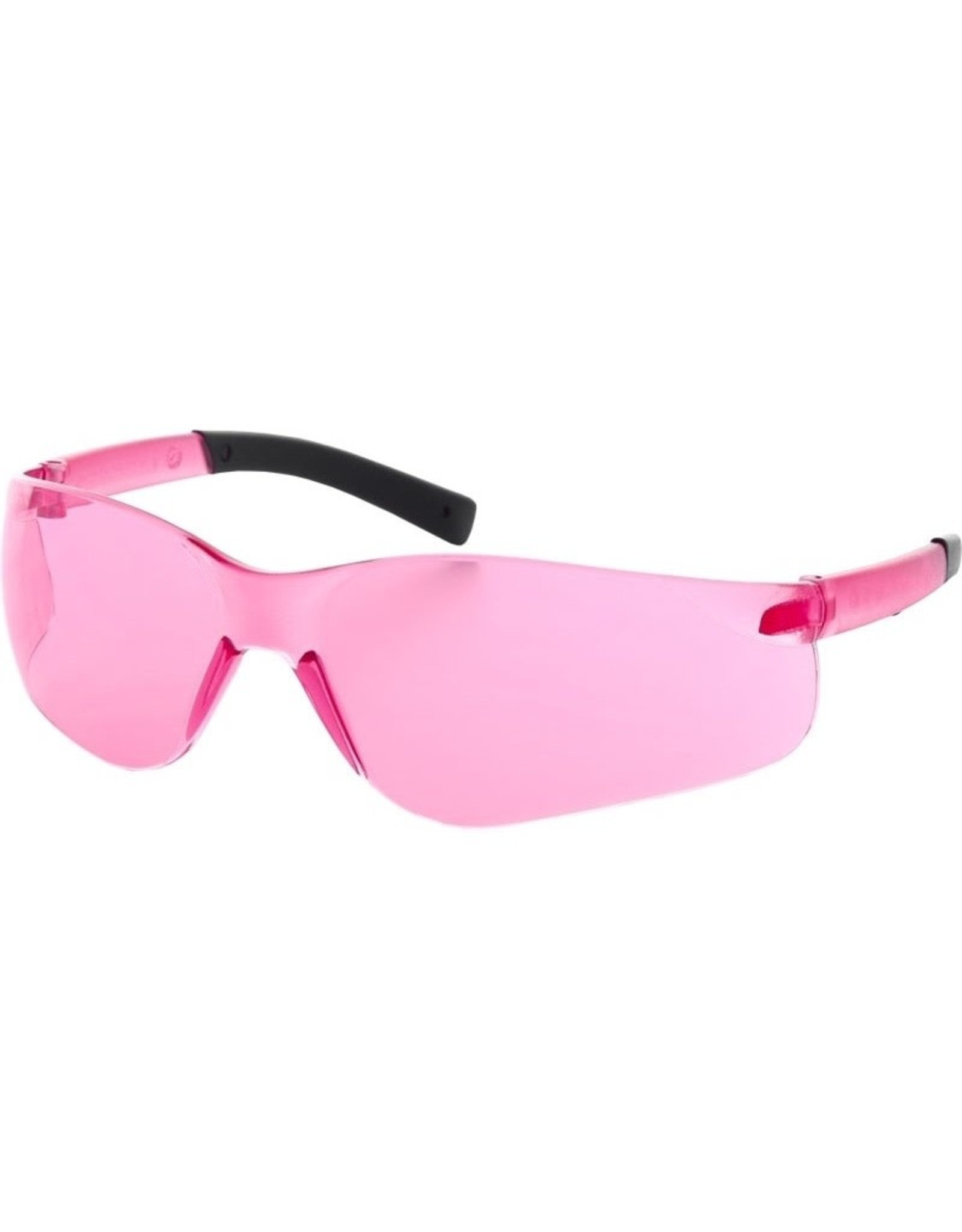Majestic Glove Hailstorm SML Safety Glasses with Vermillion/Pink Lens