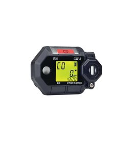 RKI Instruments GasWatch 3 – Portable Single Gas Monitor, H2S with Alligator clip