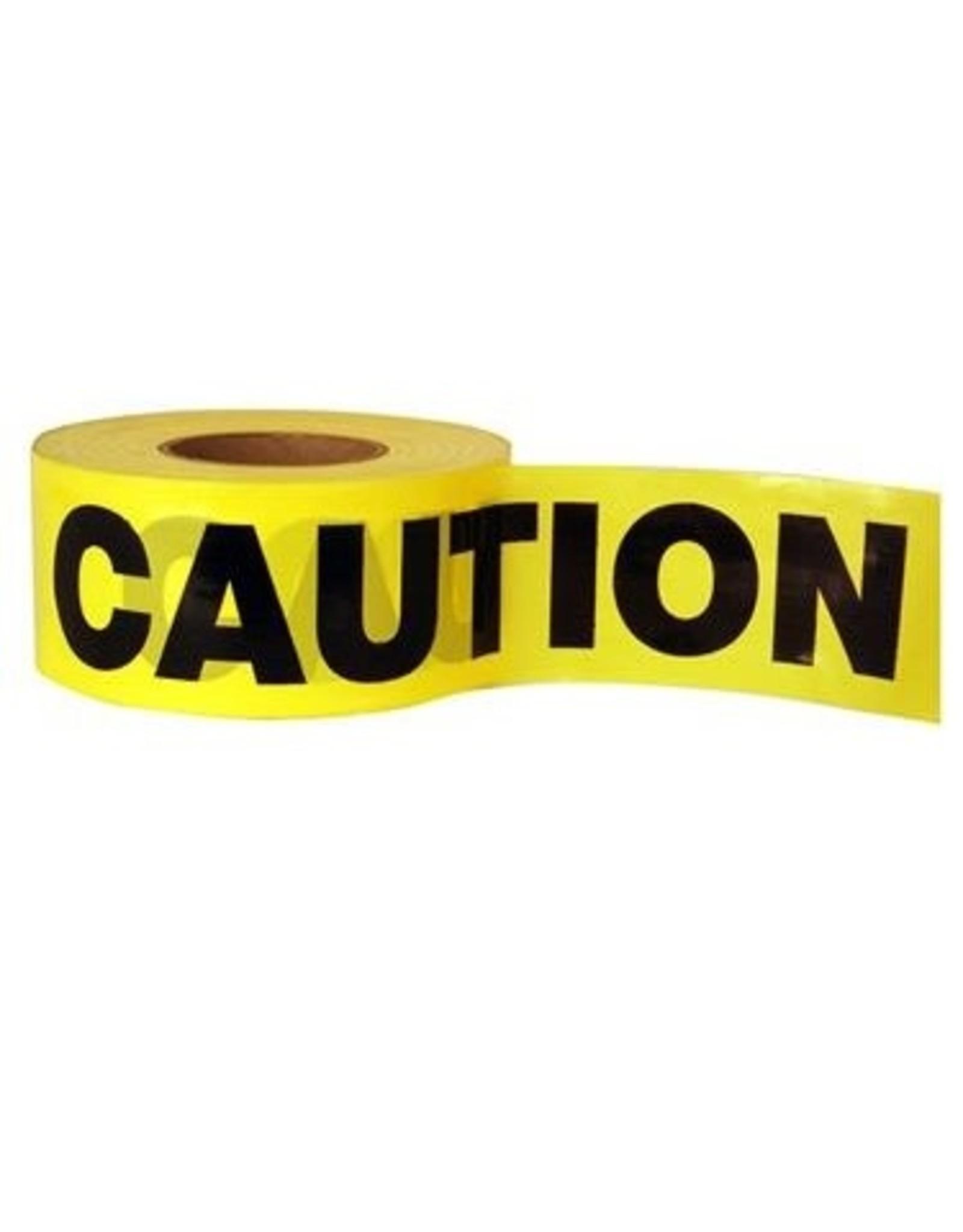 "Cordova Barricade Tape - Caution - 3"" x 1000 ft"