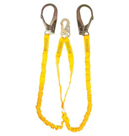 Guardian Guardian Fall Protection 11203 6-Foot Double Leg Internal Shock Lanyard