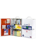 Certified Safety Mfg Class A 75V First Aid Cabinet