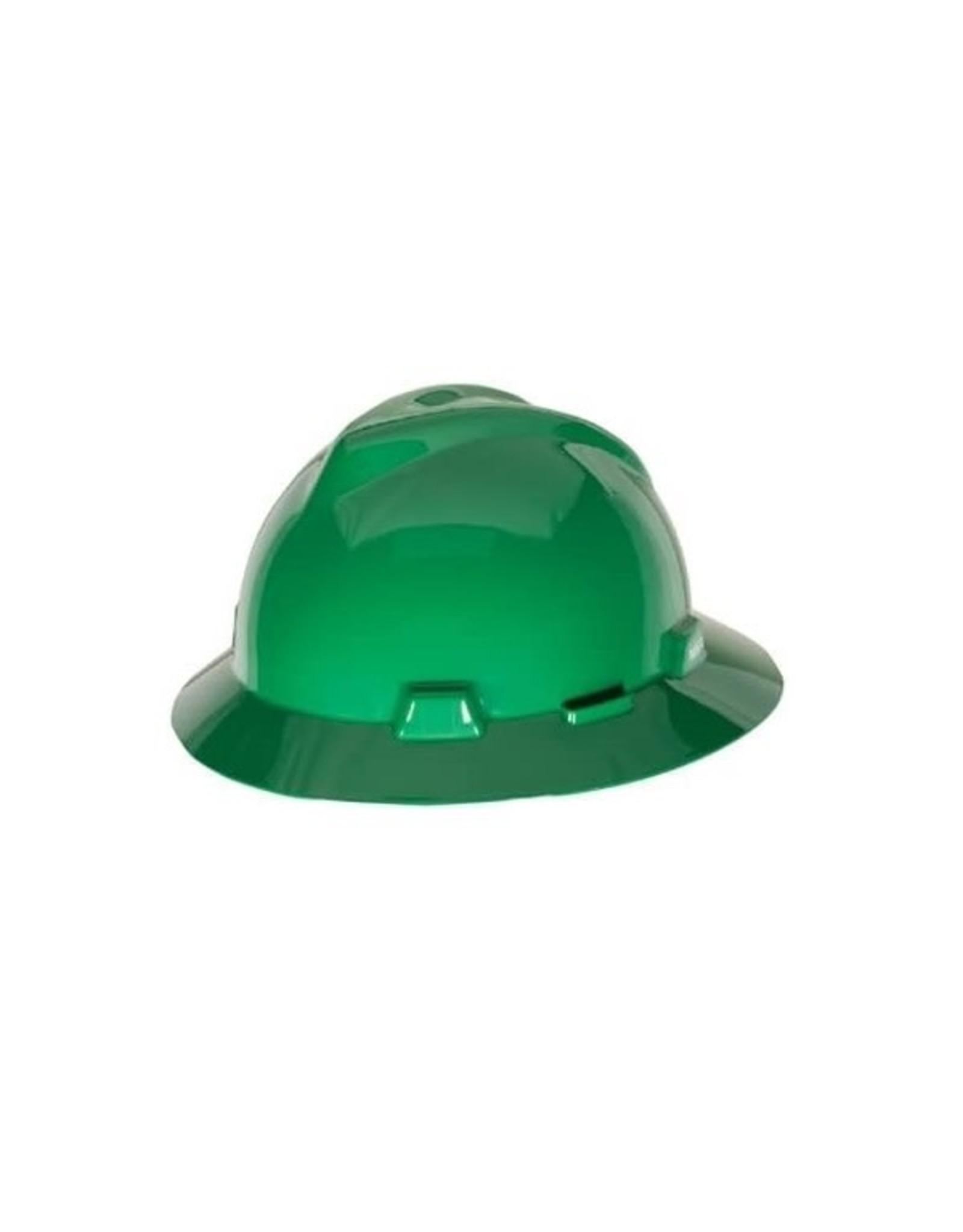 MSA MSA V-Gard® Full Brim Protective Hard Hat, Class E