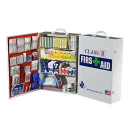 Certified Safety Mfg Class B FAC-3 First Aid Cabinet
