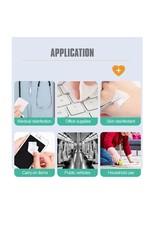 Ag+ Antibacterial Sanitizing Wipes - 50 per pack