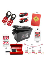 Syndicate Safety 3 Lock Lockout/Tagout Kit