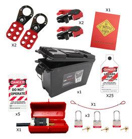 Syndicate Safety 3 Lock Lockout/Tagout Kit
