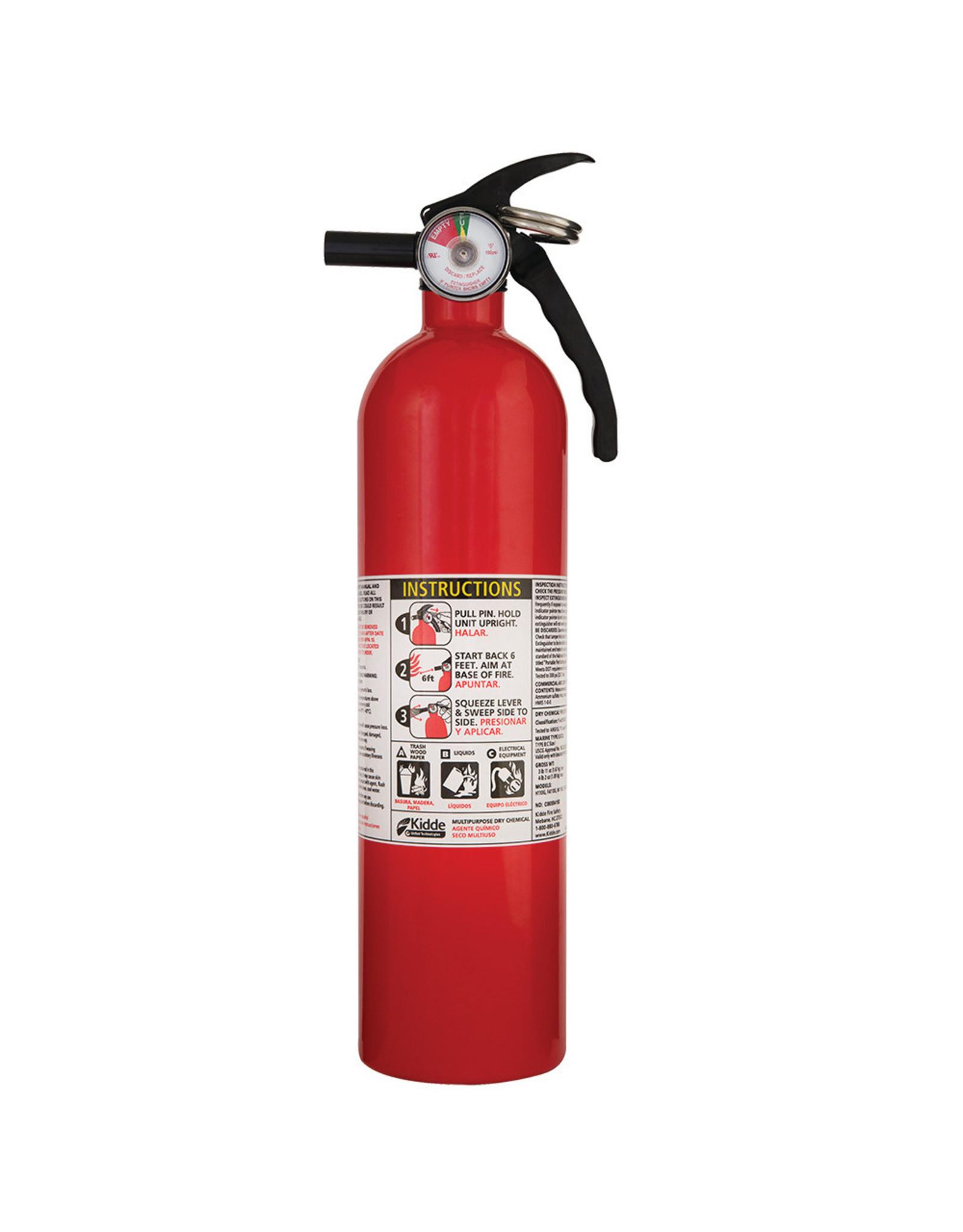 Kidde Kidde Dry Chemical Fire Extinguisher 2.5lb
