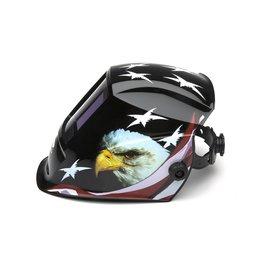 Pyramex Auto Darkening Welding Helmet - American Eagle